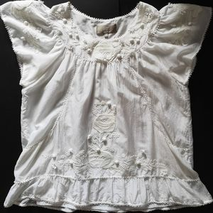 Vintage Embroidered Blouse Pierre Hierro